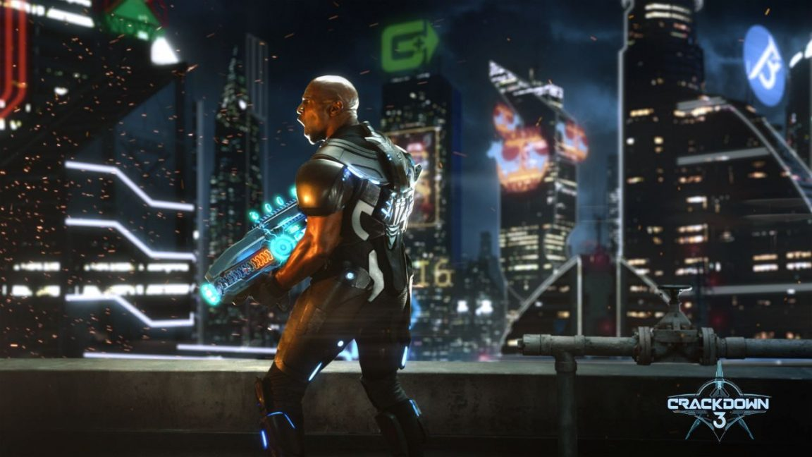 Crackdown 3 Commander Jaxon Yelling