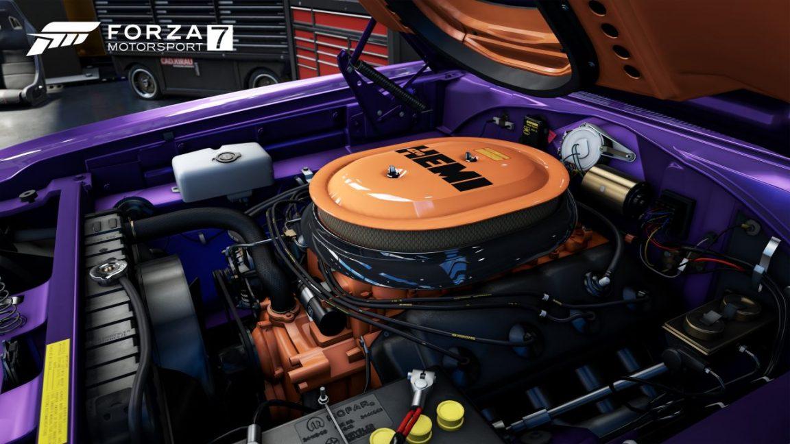 Forza 7 Hemi Engine 4K
