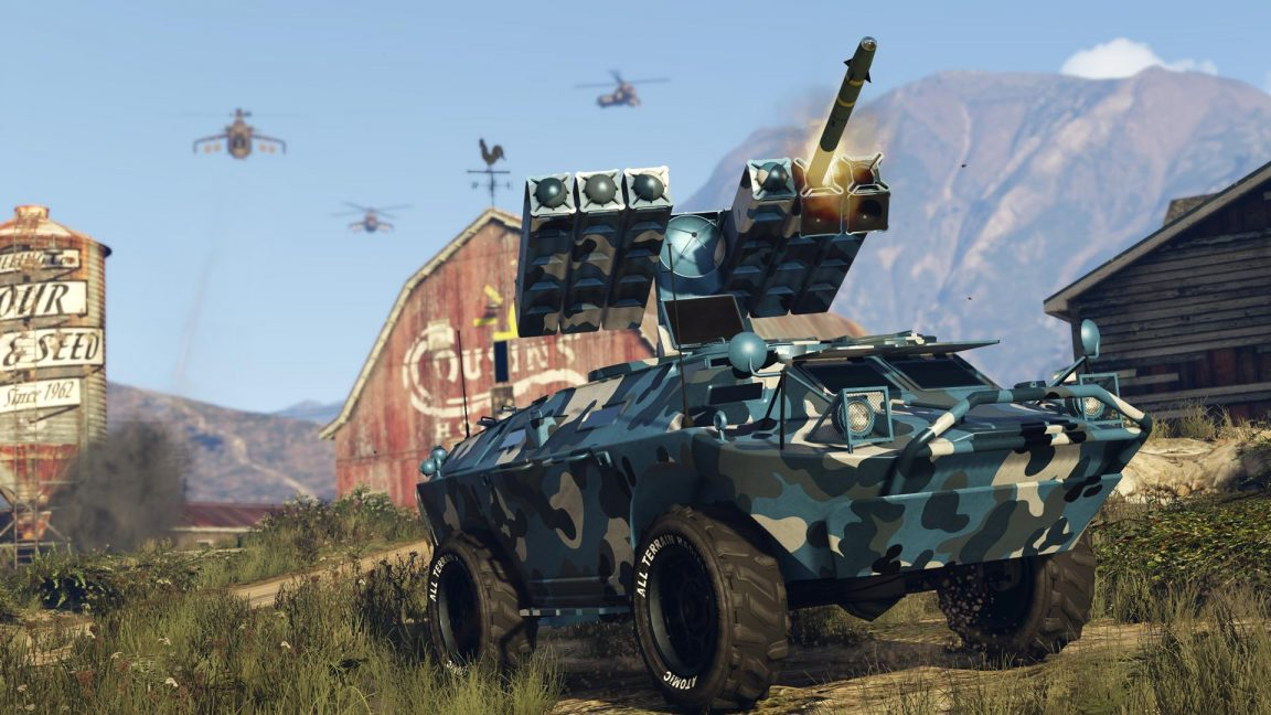 Published the first details of GTA V: Gunrunning