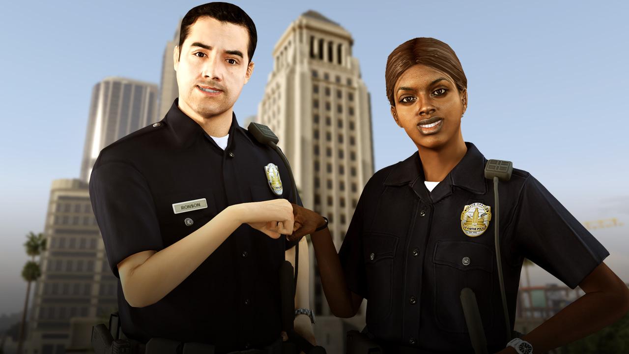 gta v police job mod