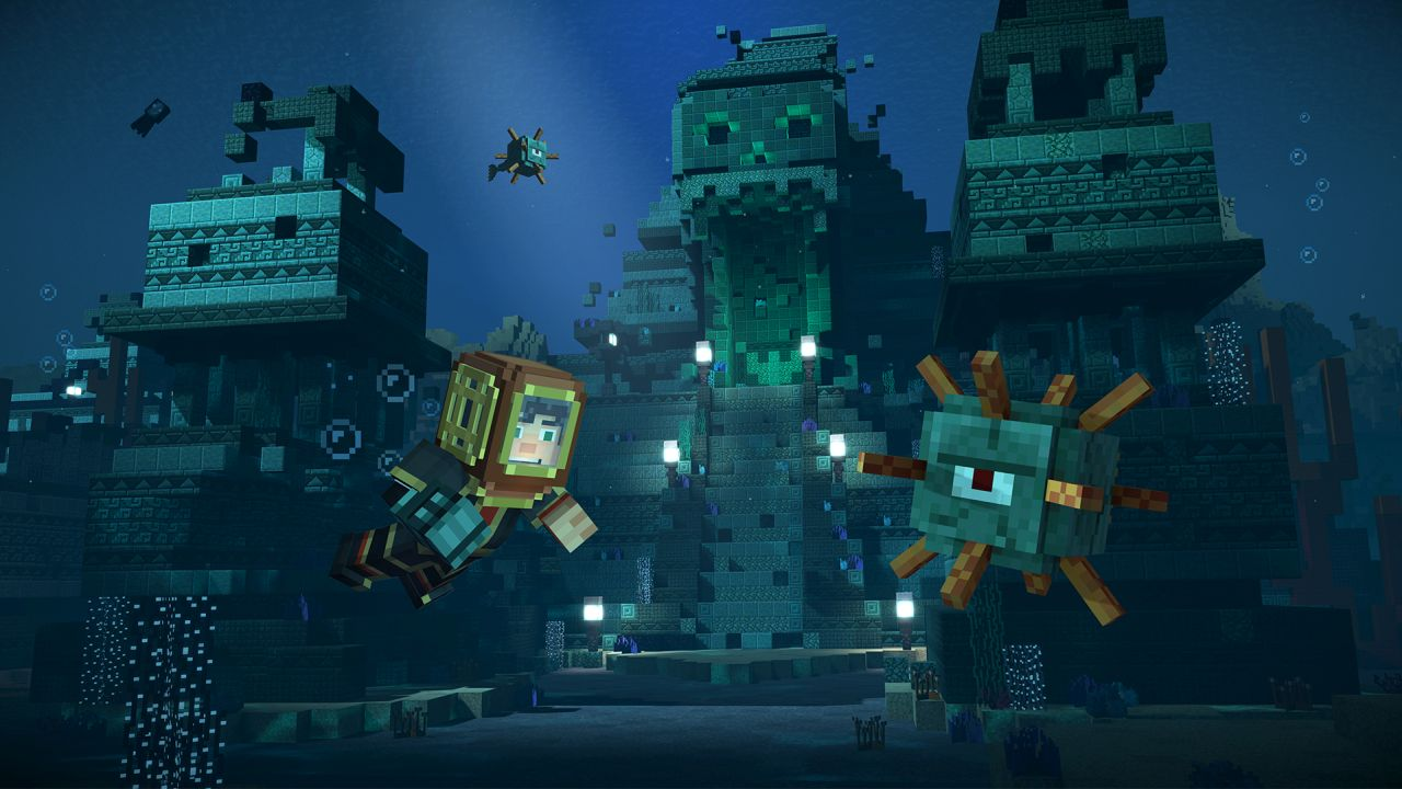 Second Season of Minecraft: Story Mode Releases in July