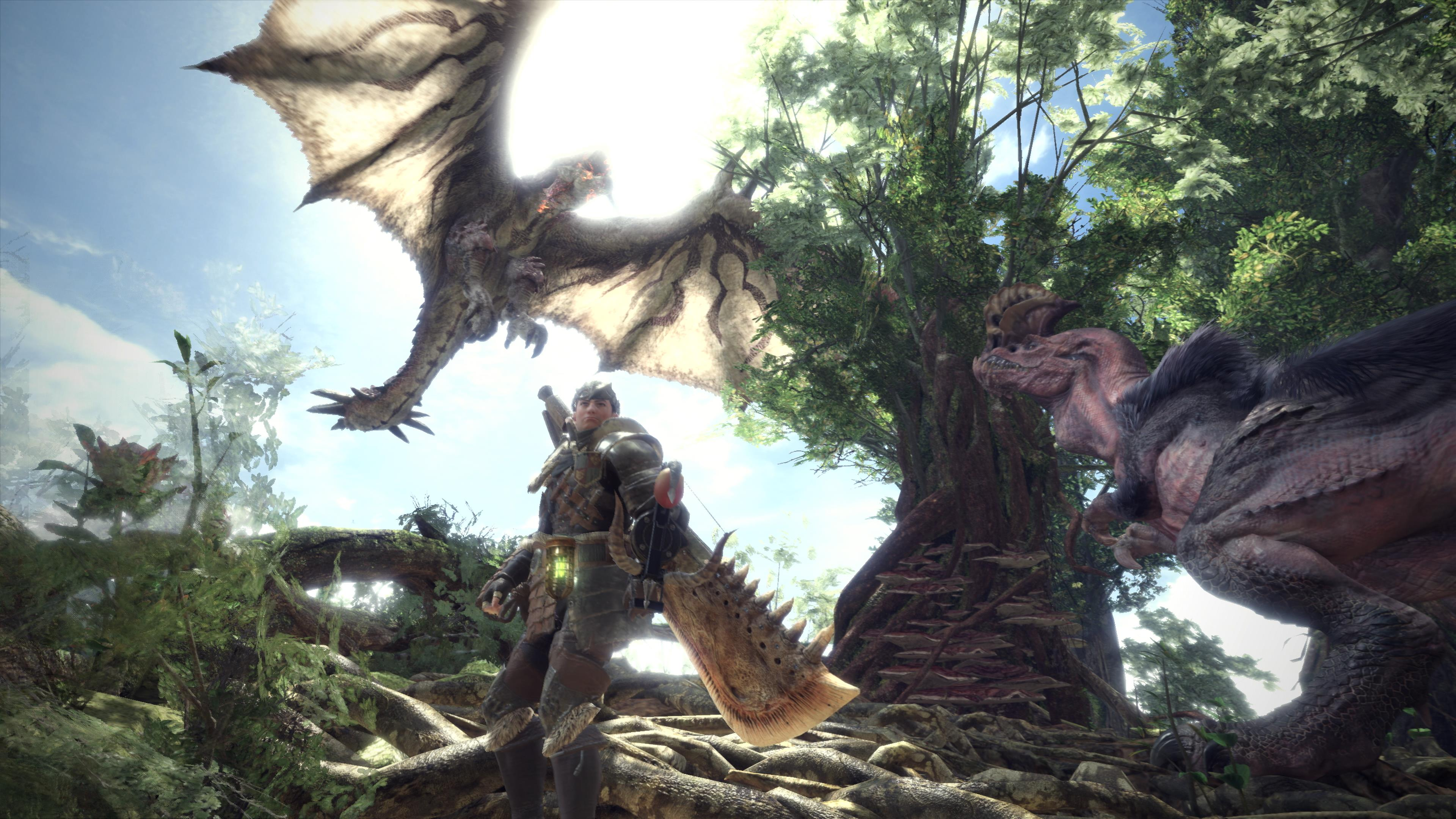 Image result for Monster Hunter World 1920x1080