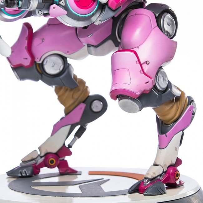 This hand painted Overwatch D Va statue is a beauty but it's