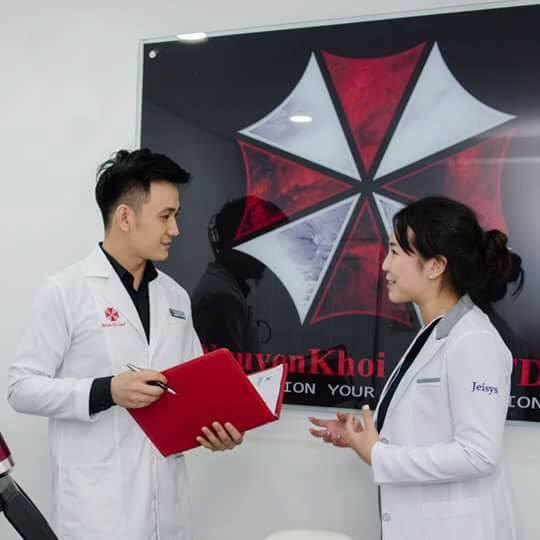 A Vietnamese skincare clinic is using Umbrella Corps' logo, and they're totally not making the T-virus