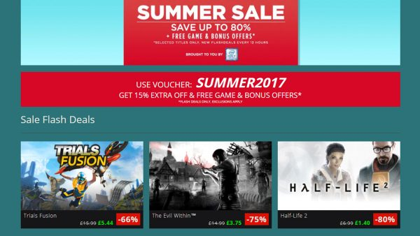 GMG Summer Sale 2017