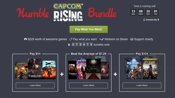 Humble Capcom Dead Rising Bundle