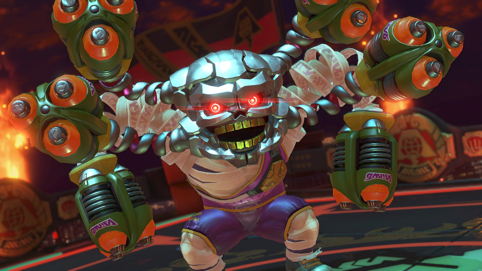 ARMS 2.0 Patch Will Introduce Hedlok Mode and Character Balance Changes
