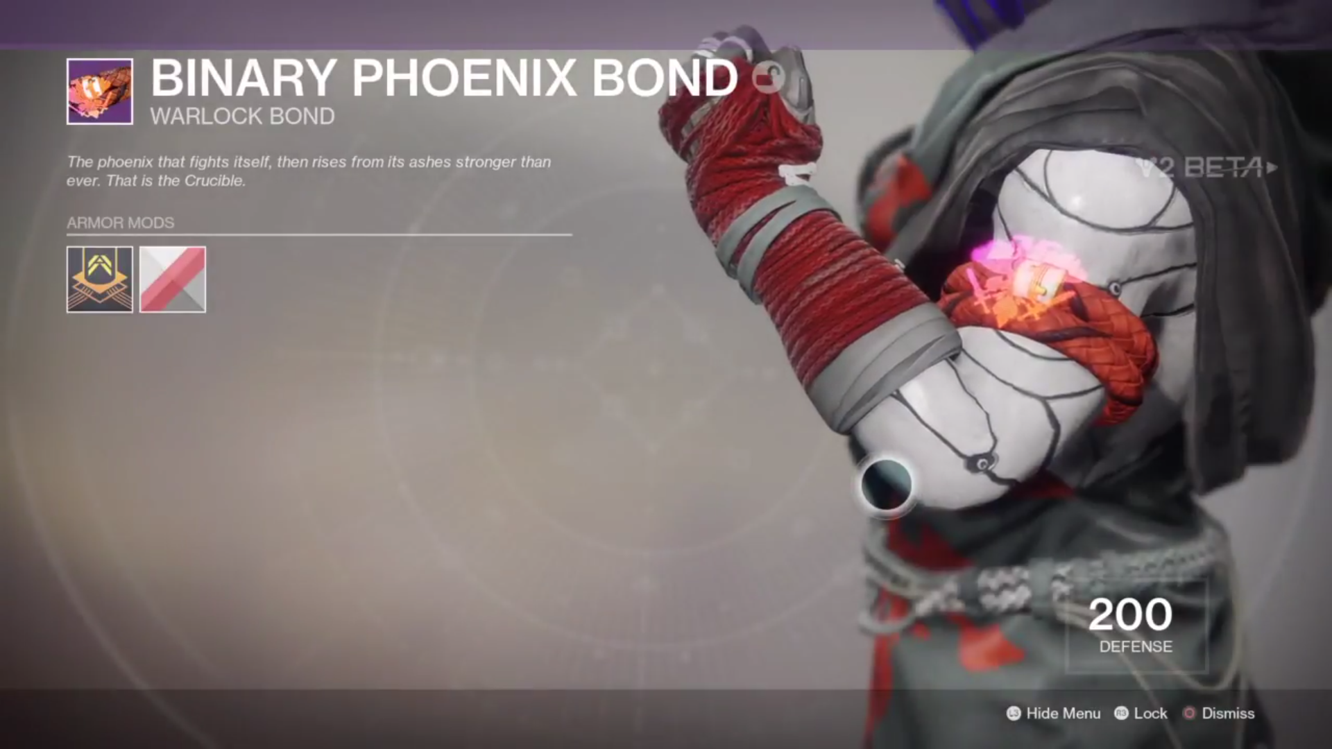destiny 2 beta binary phoenix bond