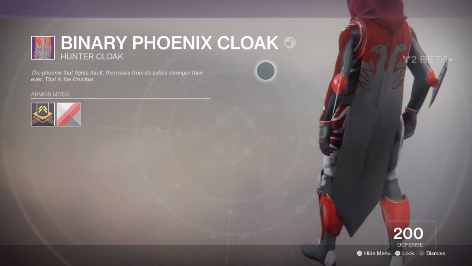 The Took Offense Set Is A Drop From Strike Intrinsic Perk Heavy Hunter Armour Applied Across And Offers Improved Resilience