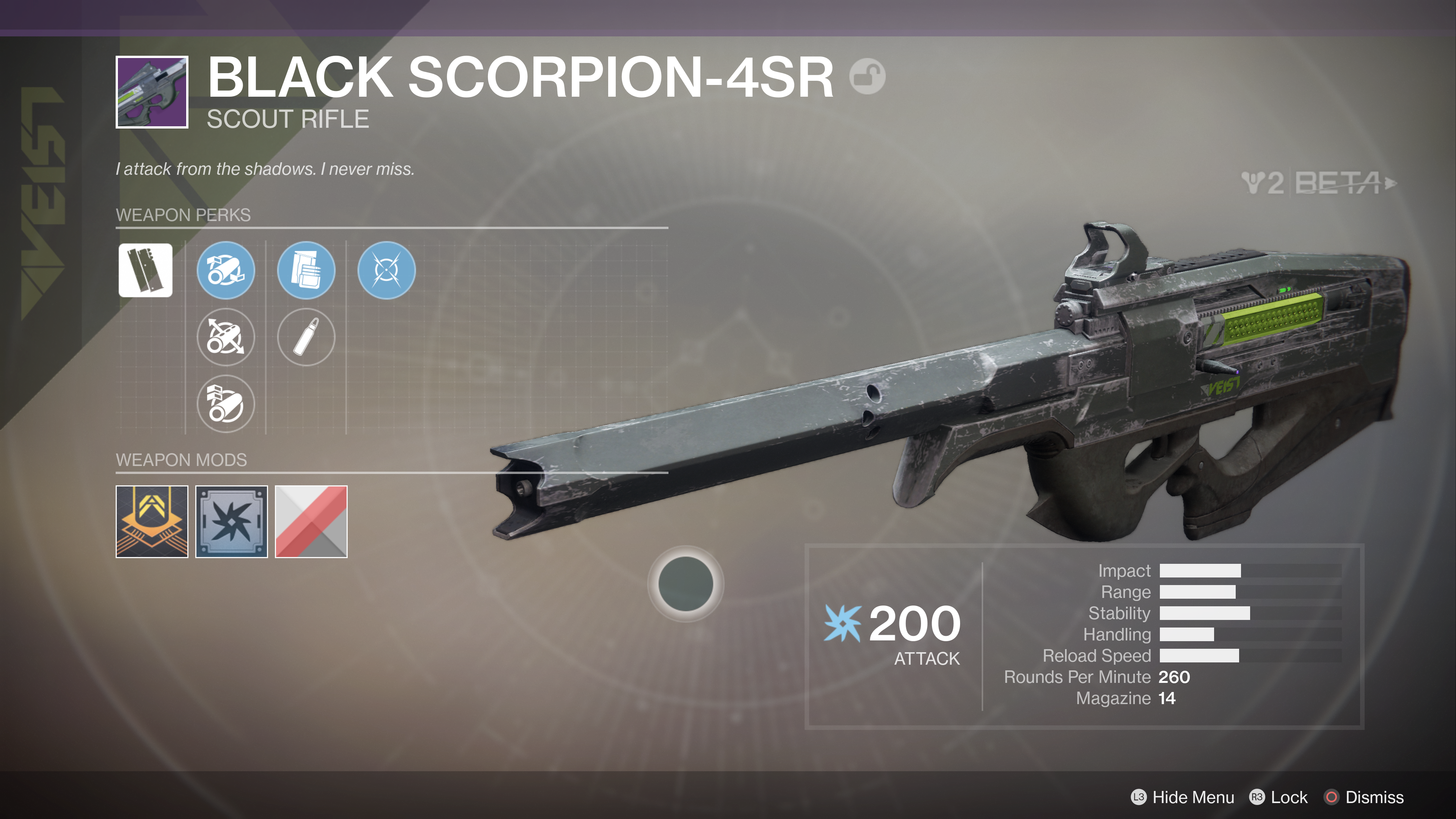 destiny 2 beta black scorpion-4sr