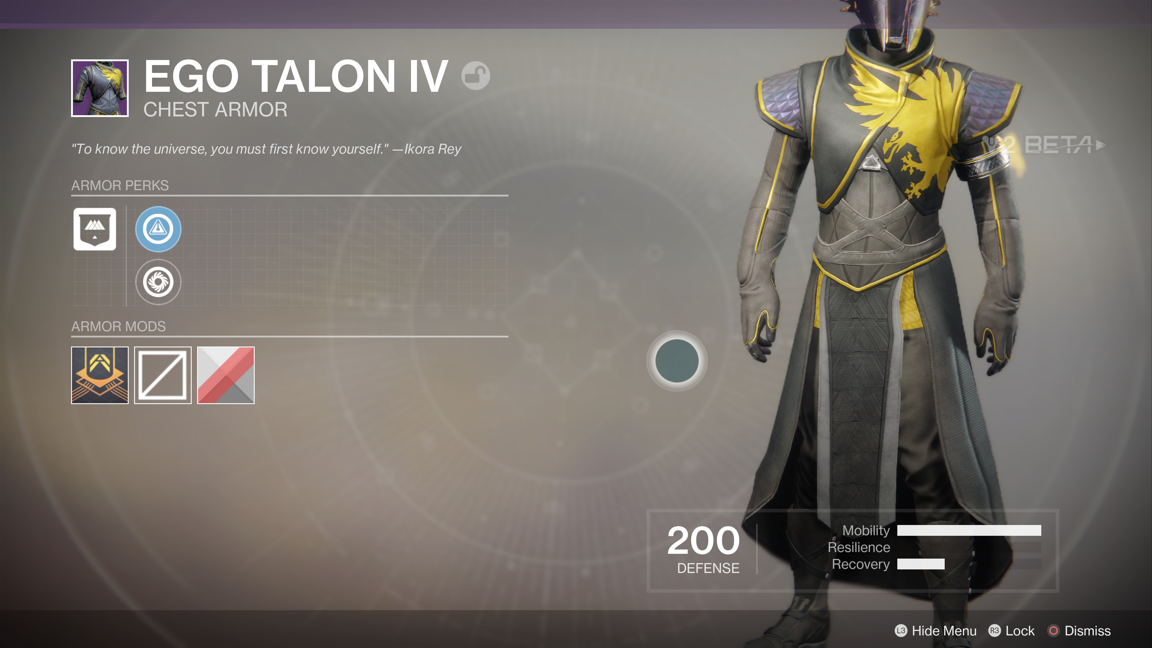 destiny 2 beta ego talon IV chest armour