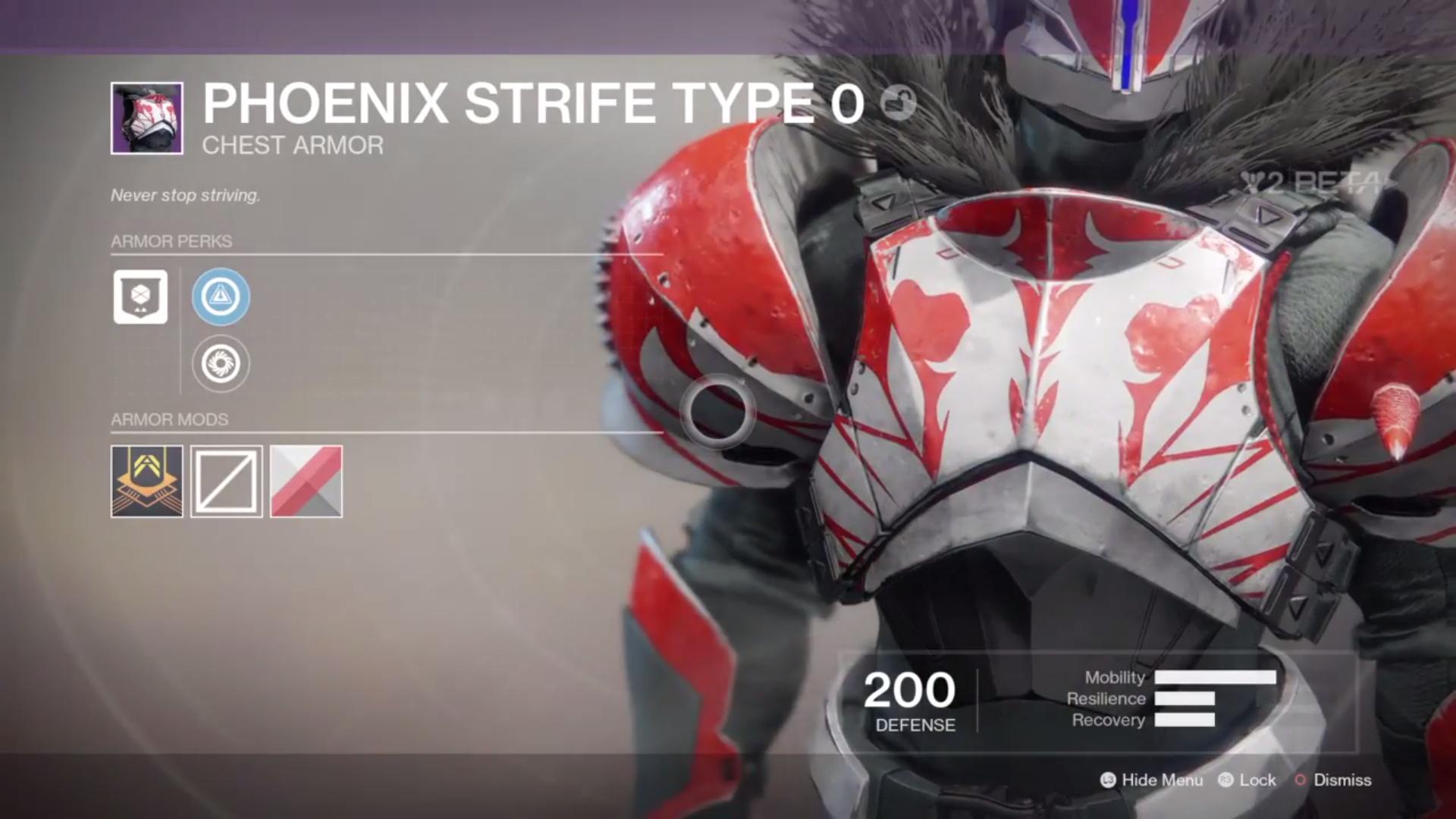 destiny 2 beta phoenix strife type 0 chest