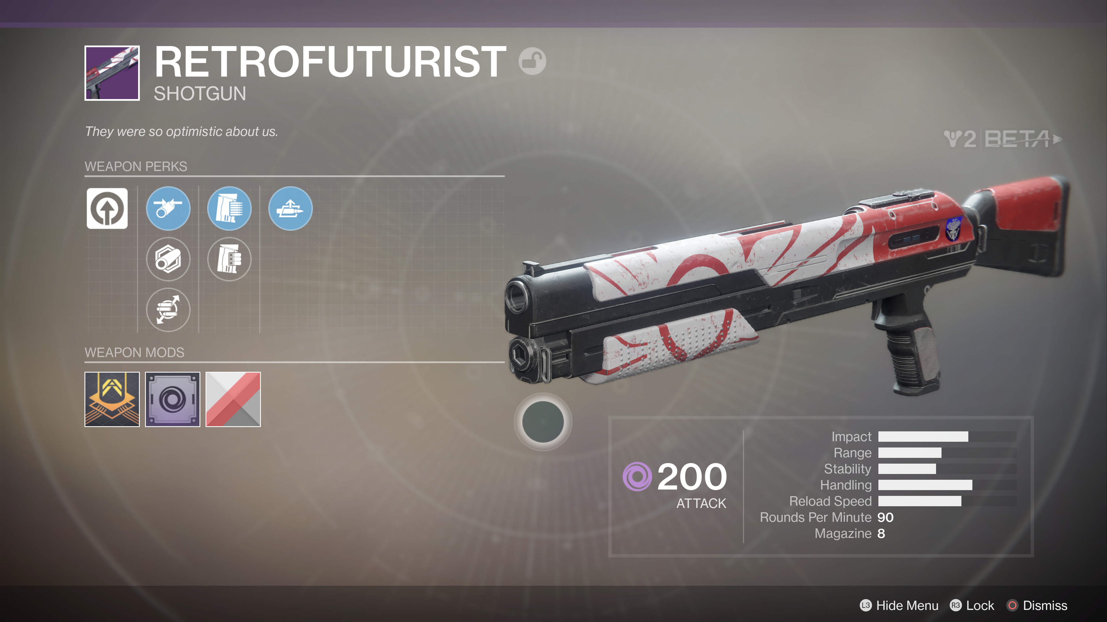 destiny 2 beta retrofuturist