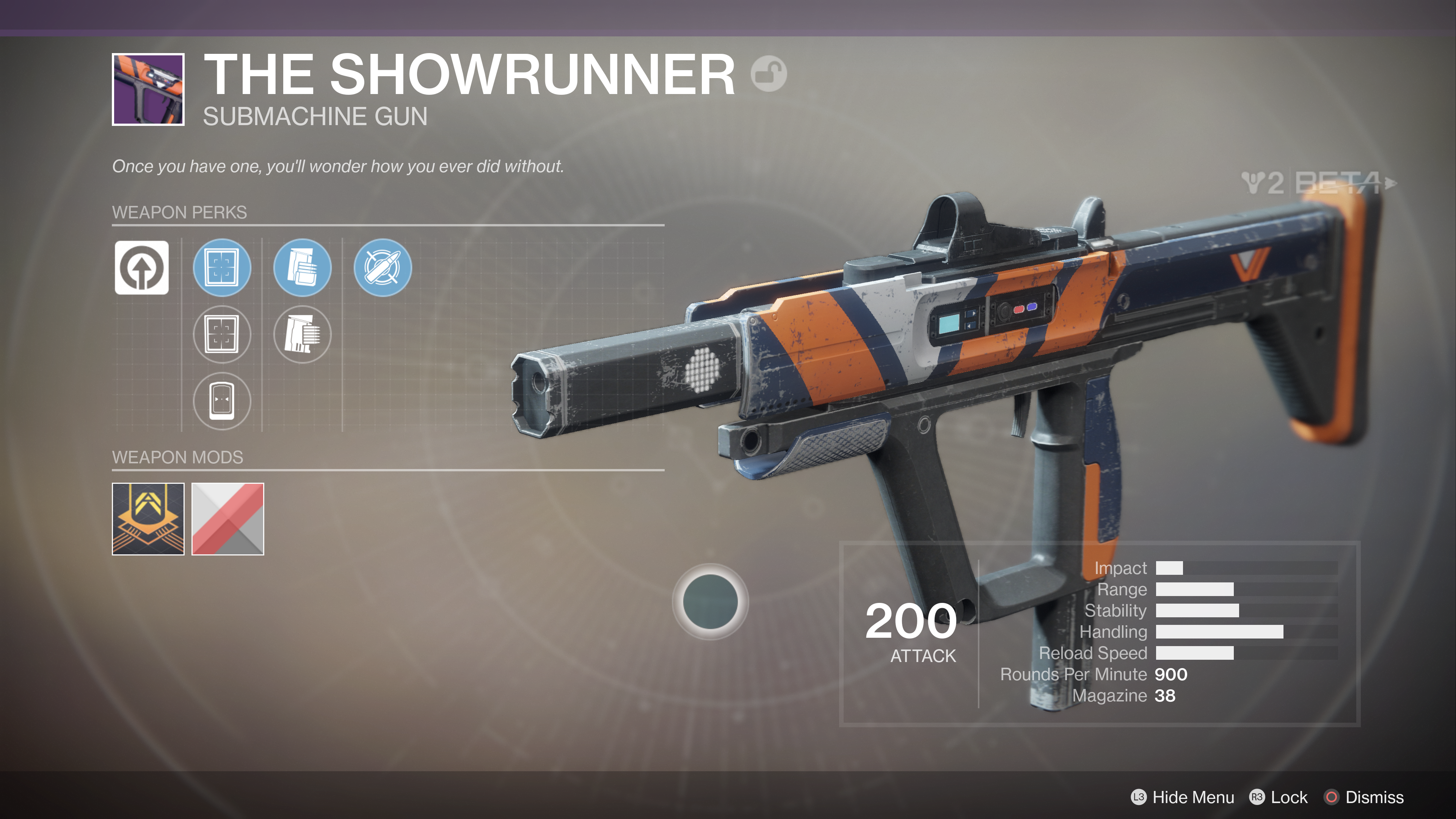 destiny 2 beta the showrunner