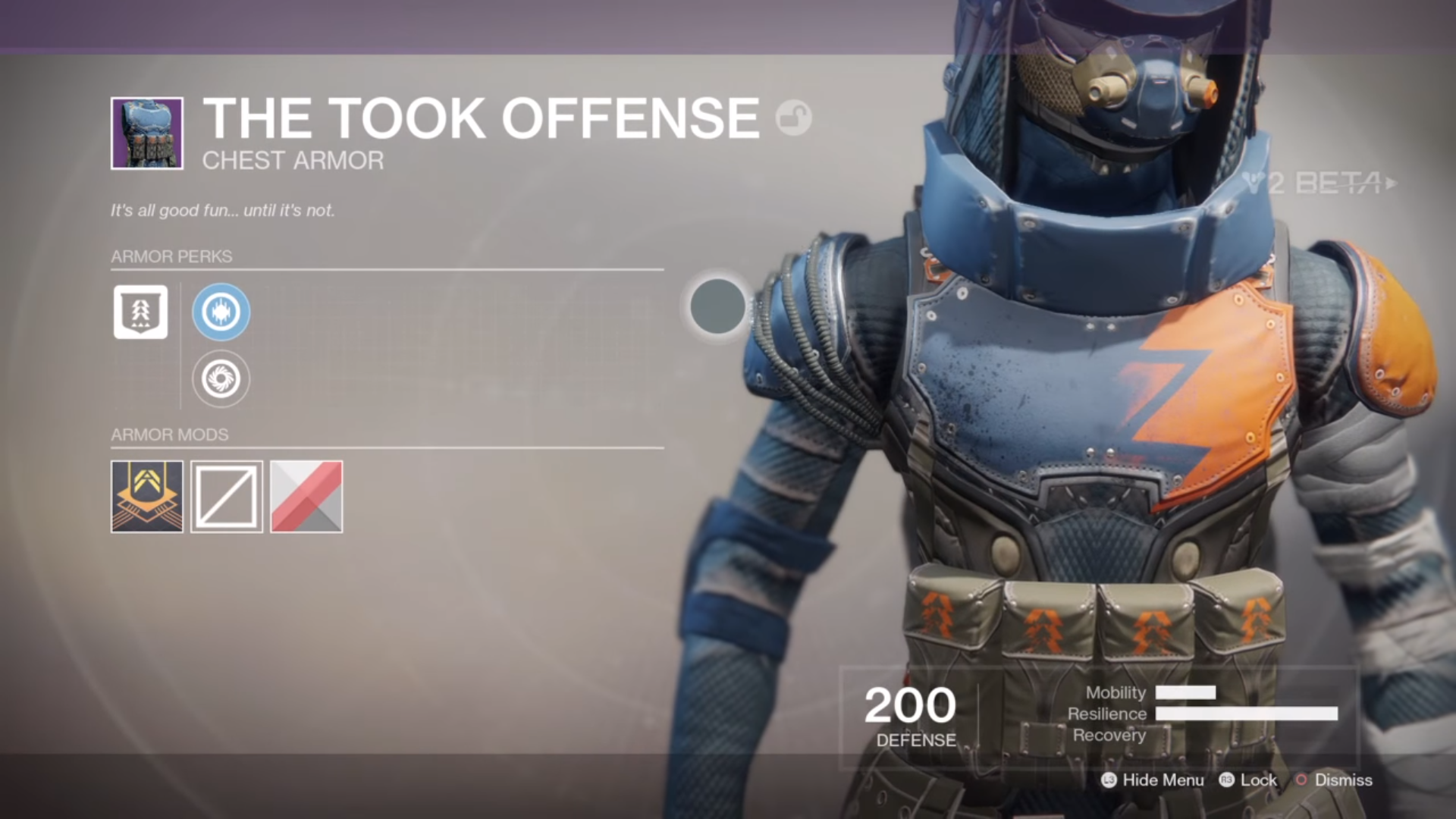 destiny 2 beta the took offense chest