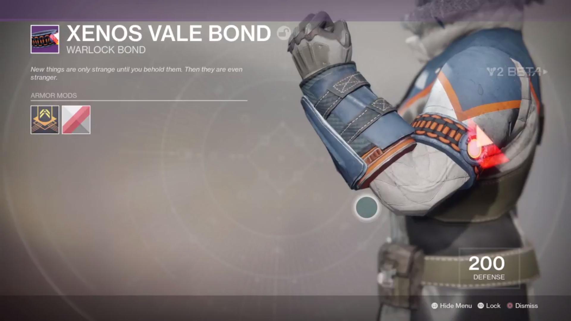 destiny 2 beta xenos vale bond