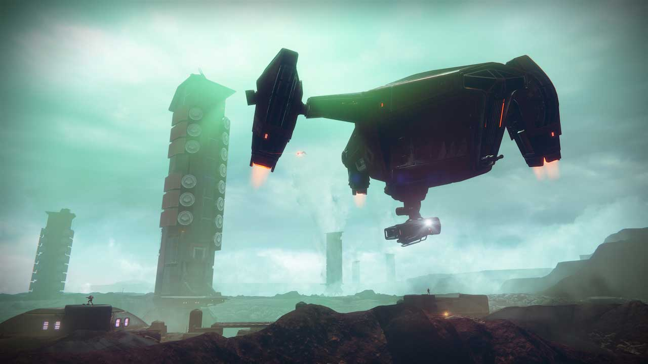 You can shoot down Cabal ships in the Destiny 2 beta