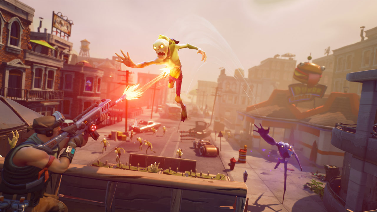 Fortnite briefly features PS4 and Xbox One cross-platform play