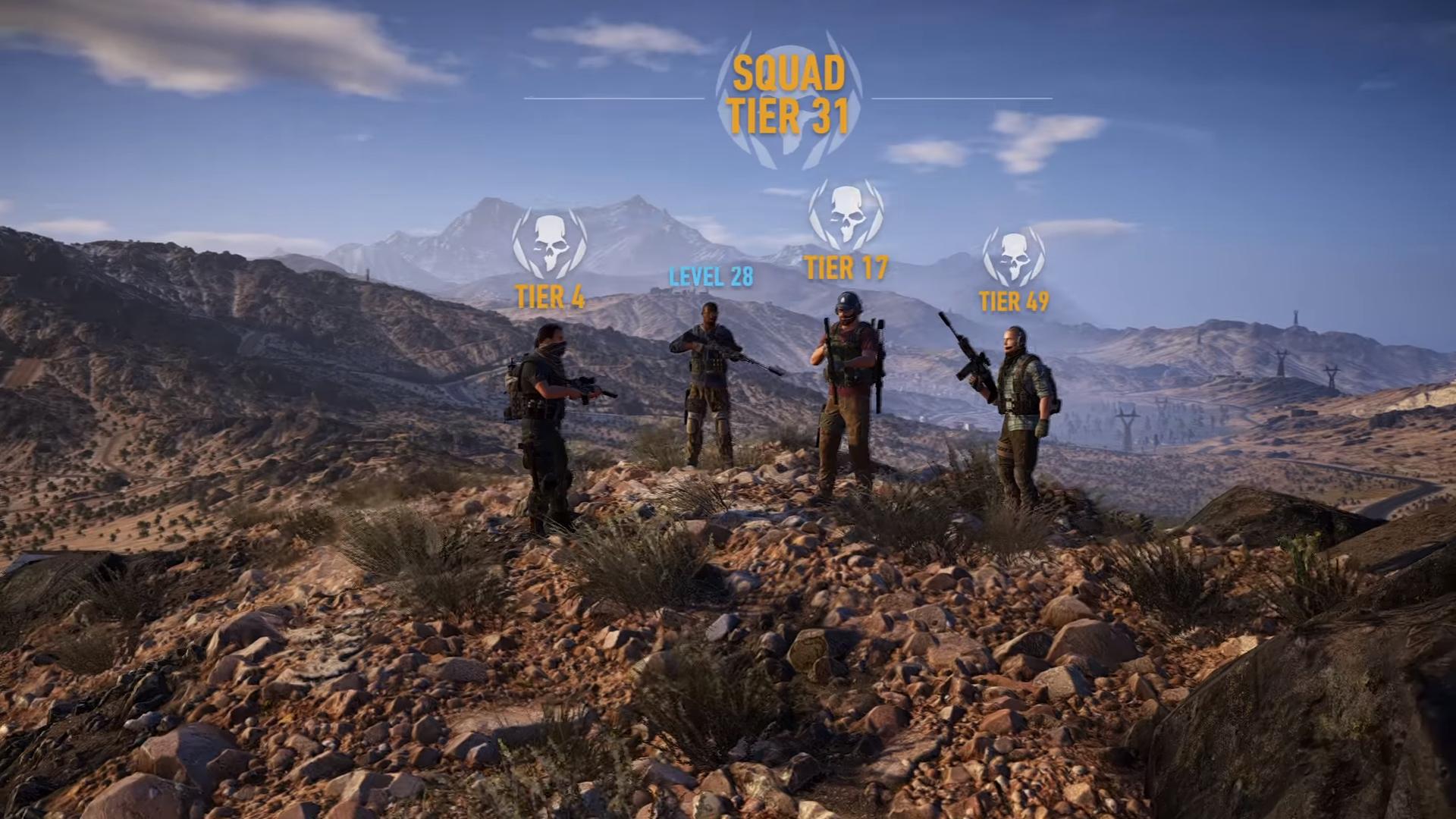 ghost recon wildlands tier 1 mode coop