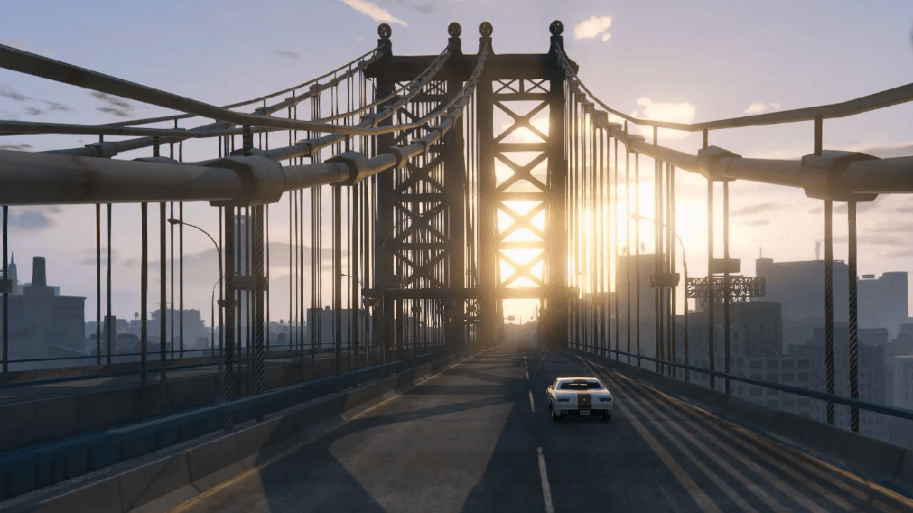Liberty City in GTA5 mod shut down