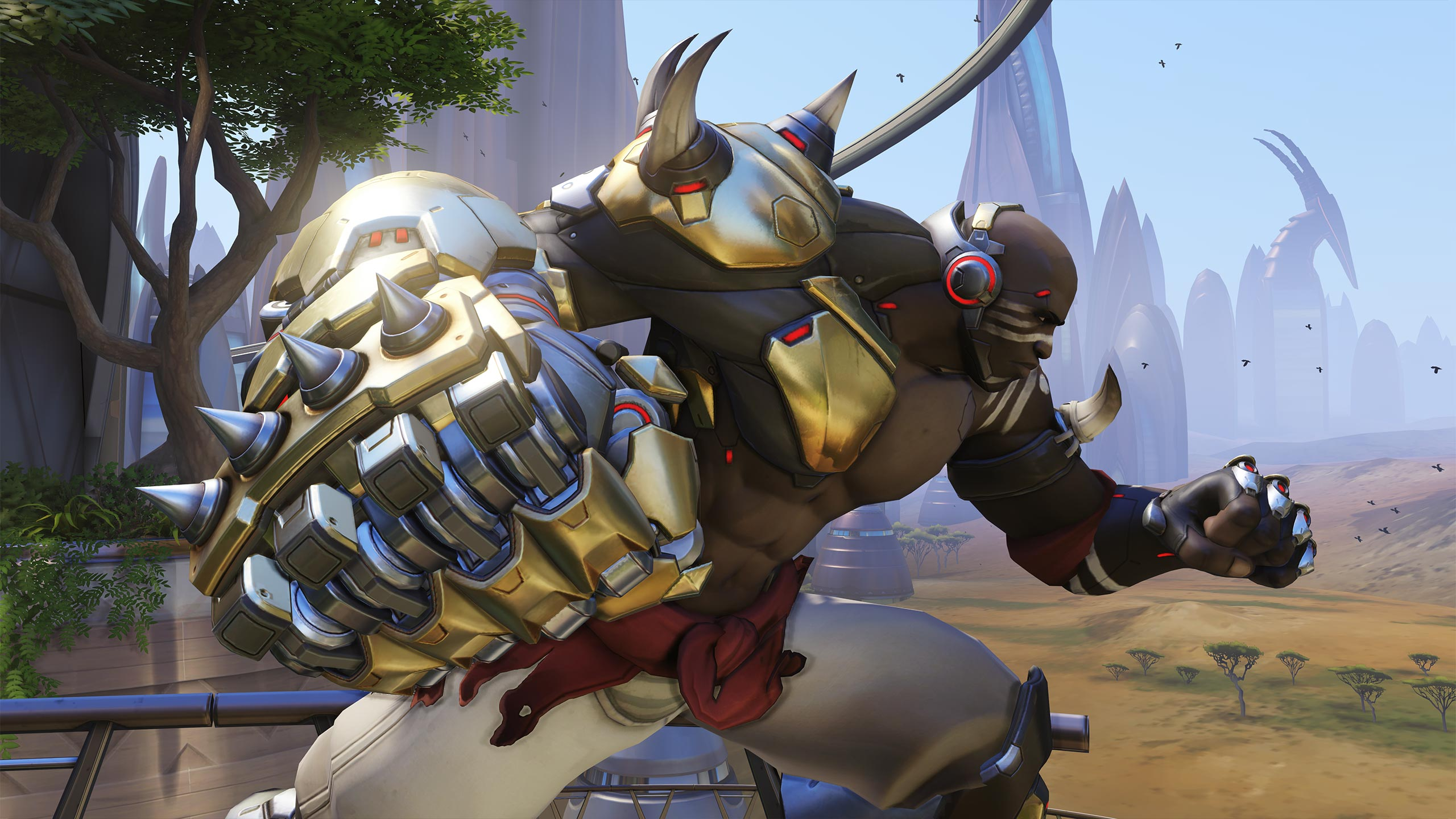 Overwatch Dev Hyping Up Doomfist, Real Name Revealed
