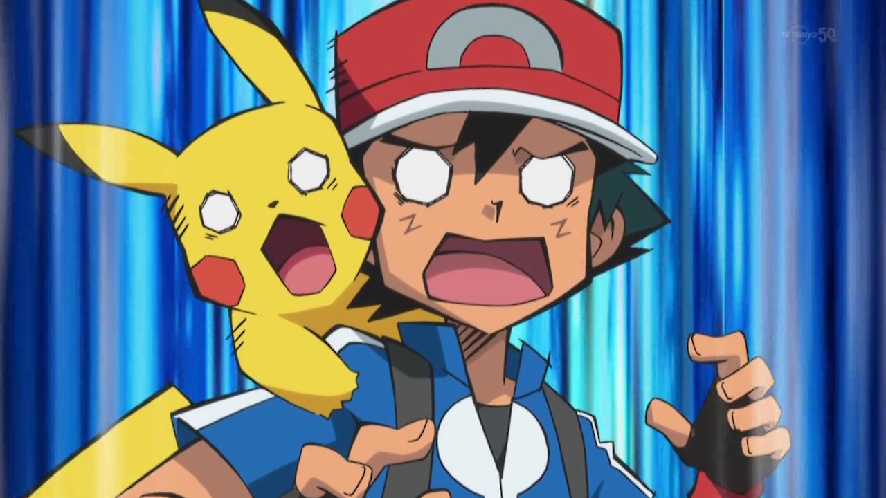pokemon ash shocked