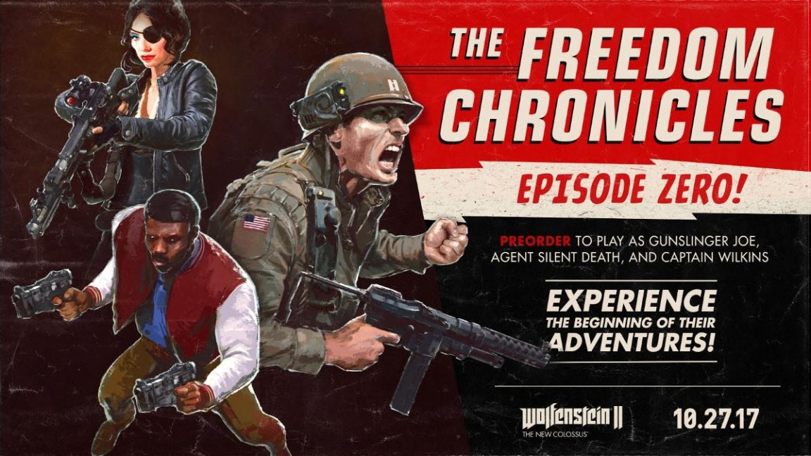 Wolfenstein II: The New Colossus DLC And Season Pass Details