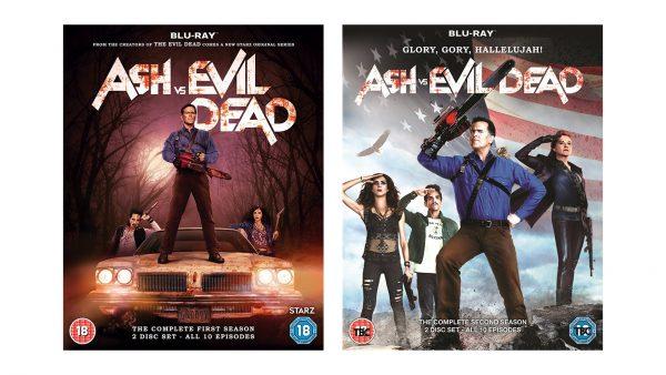 Ash vs. Evil Dead Blu-rays