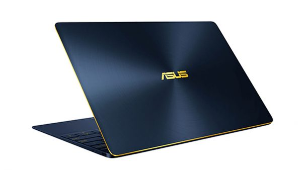 Asus Zenbook Blue Metallic