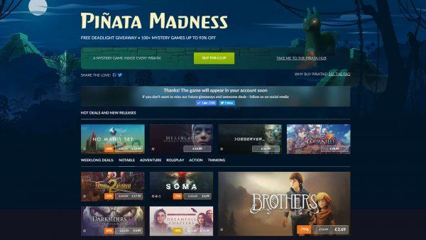 GOG Pinata Madness Sale1