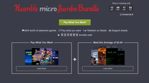 Humble Micro Jumble Bundle