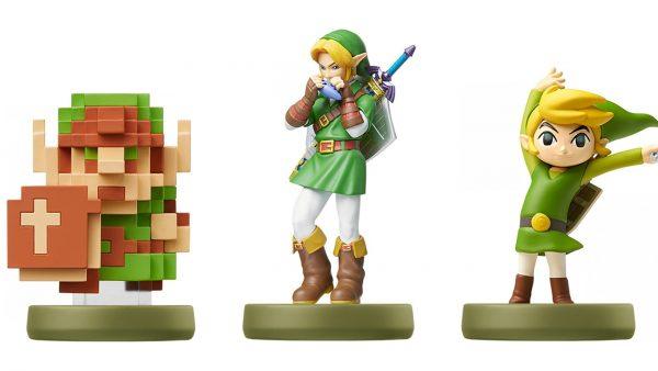 Link Amiibo Figures