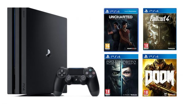 PS4 Pro Bundle Tesco Lost Legacy Uncharted