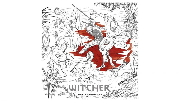 Witcher Colouring Book