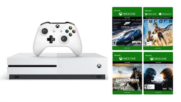 Xbox One with Four Digital Games