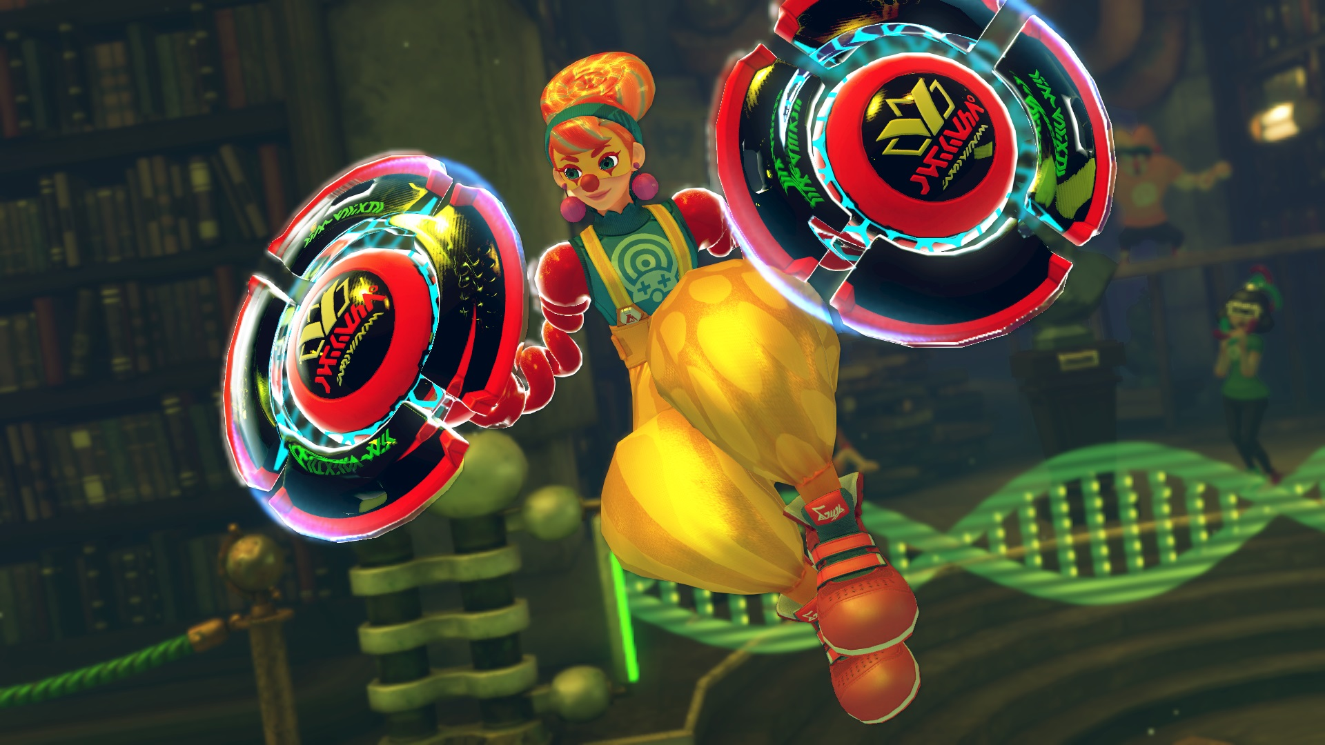 ARMS' New Character Is Basically A Scary Clown Lady