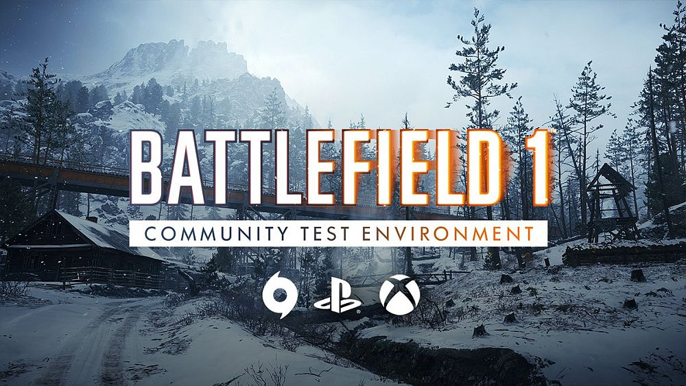 Battlefield 1 Community Test Environment Now Available on PS4 and Xbox One