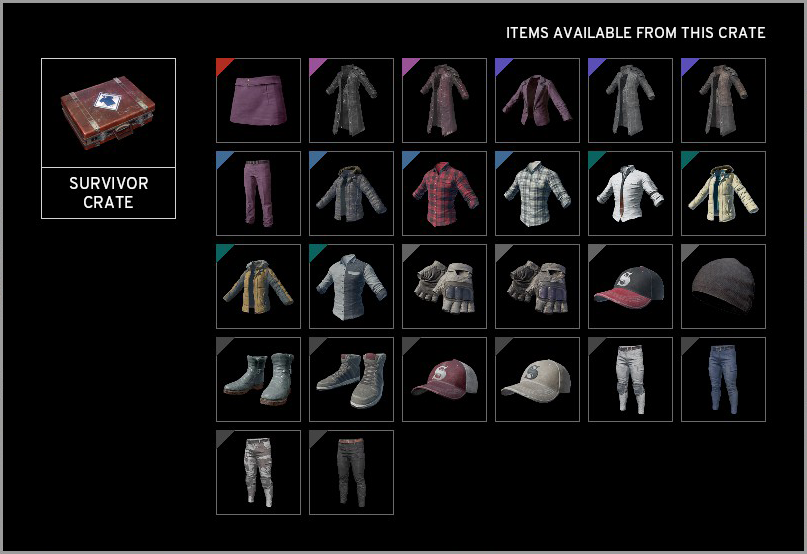 battlegrounds_survivor_crate_all_items_1