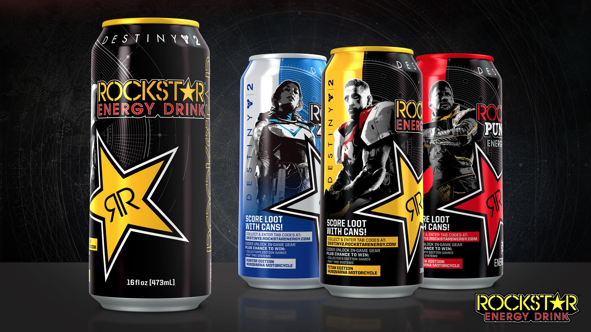 How Destiny 2's Rockstar Energy Drink Rewards Work