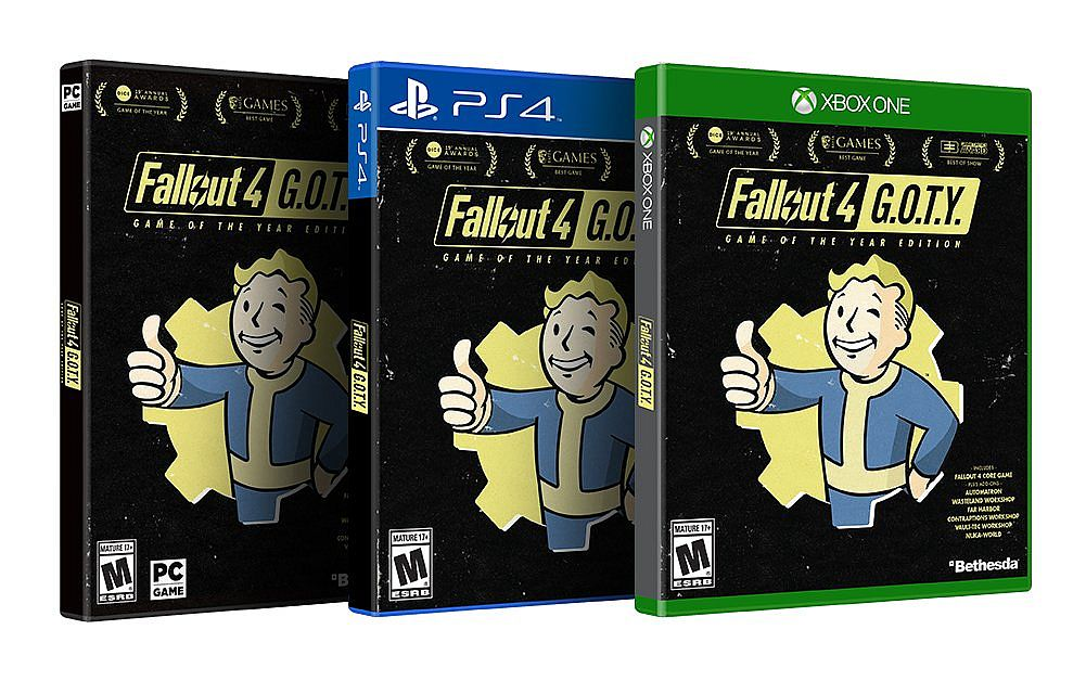 Fallout 4: Game of the Year, Pip-Boy Editions out now on PC