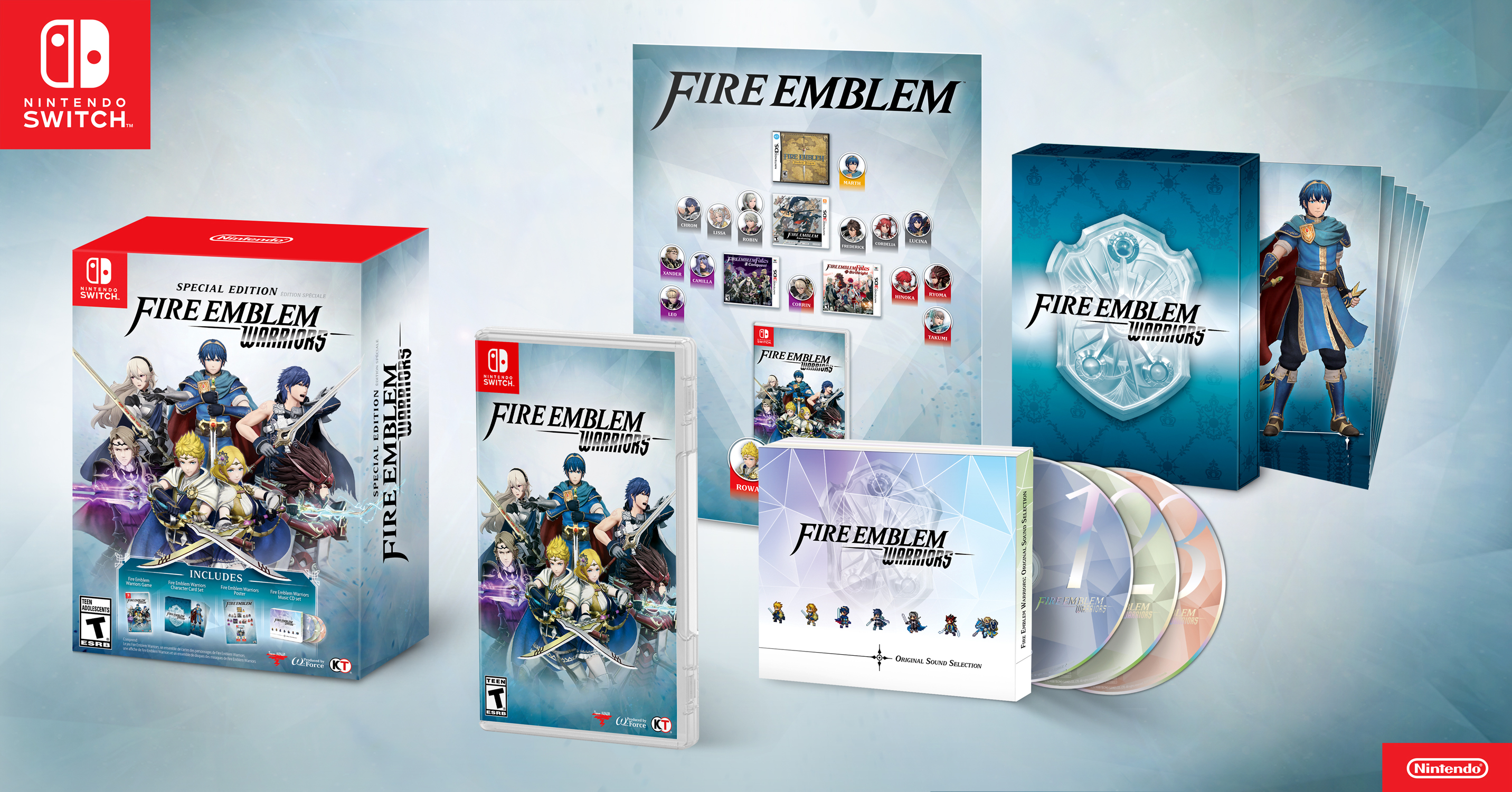 Image result for FIRE EMBLEM WARRIORS - SPECIAL EDITION