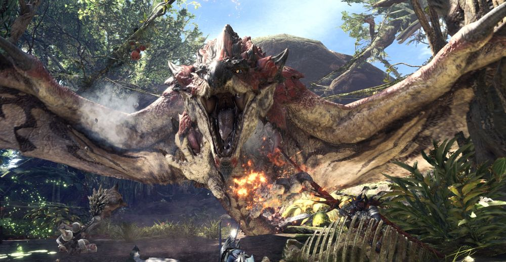 monster hunter world 02 1 - Monster Hunter World's latest patch update is live: fixes The Encroaching Anjanath issue, more