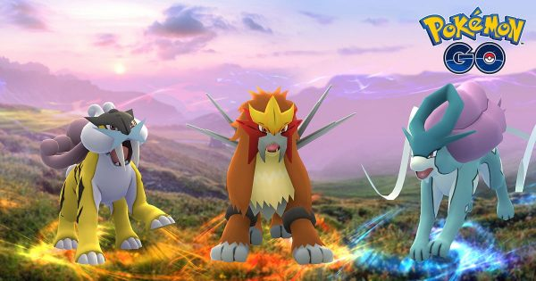 Pokémon GO Adds Entei, Raikou, And Suicune