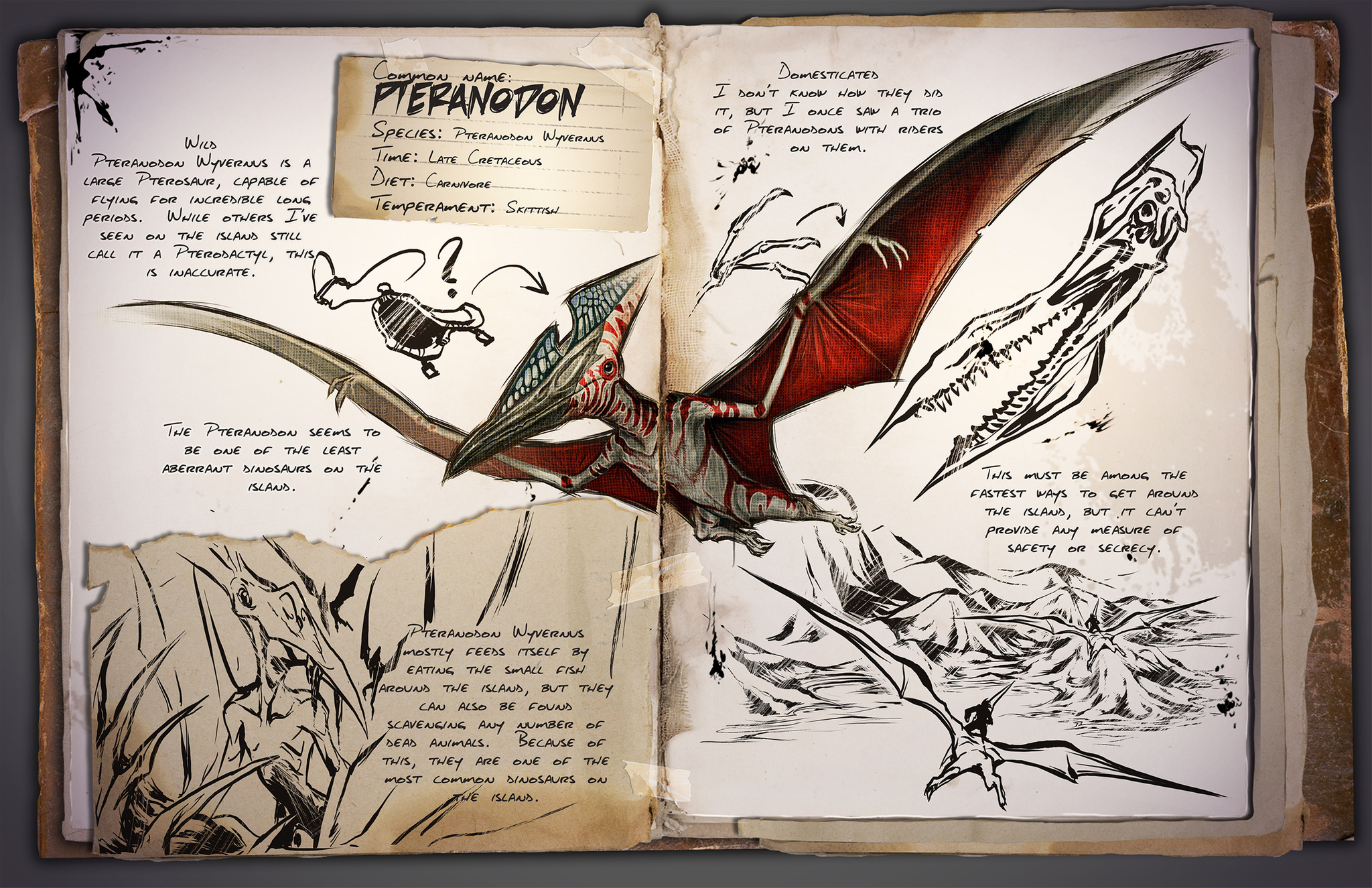 pteranodon ark survival evolved