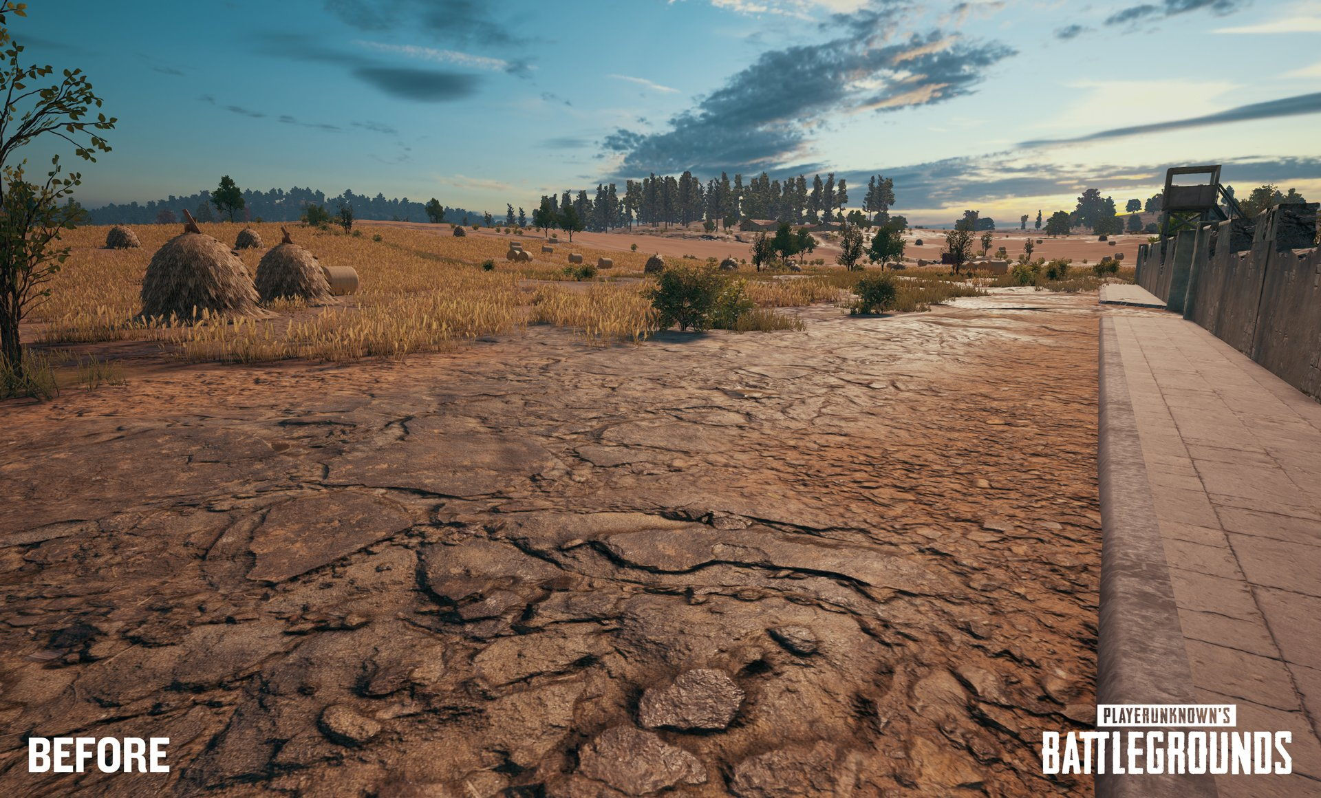 See the new tessellation tech in PlayerUnknown's