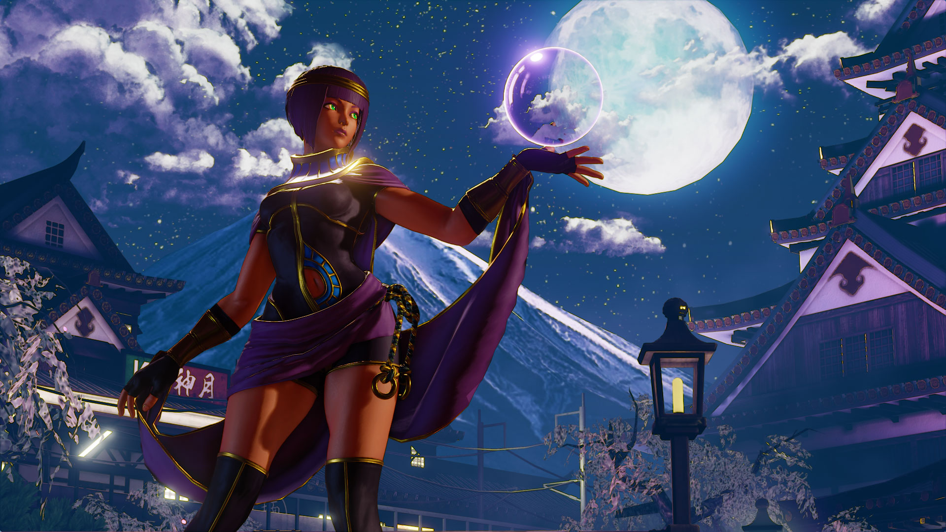 Menat Brings Mystic Orbs to Street Fighter V