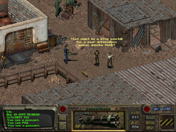 The original Fallout is free on Steam for today only - VG247