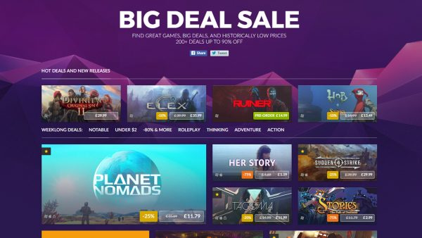 GOG Big Deal Sale