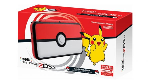 New Nintendo 2DS XL Poke Ball Pokemon Edition
