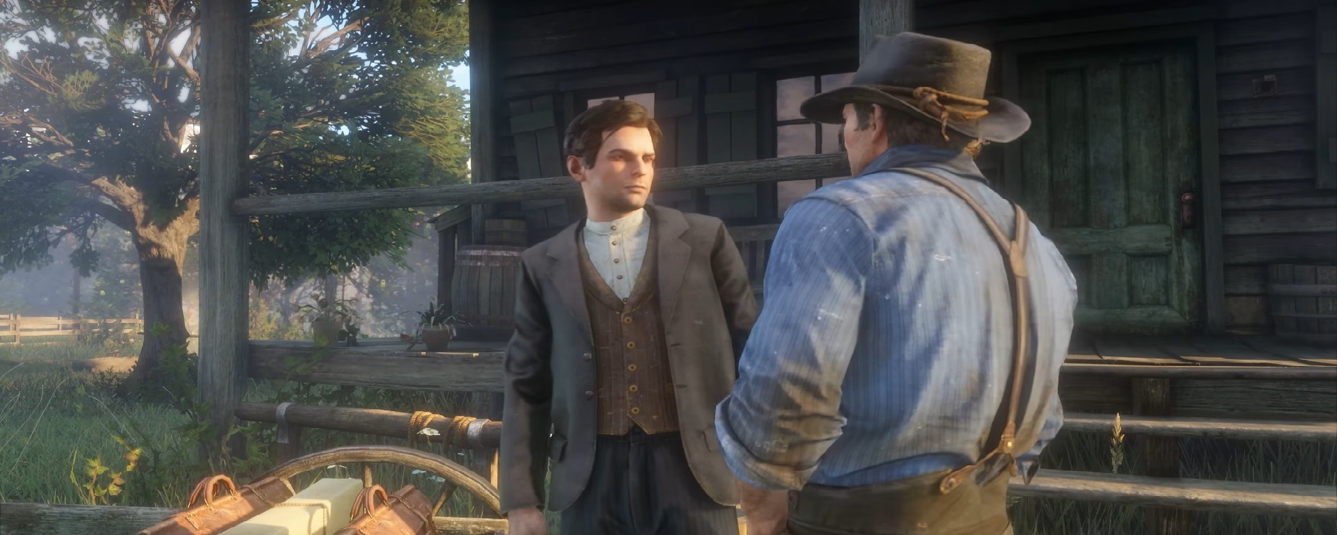Did We Just See John Marston In The Red Dead Redemption 2 Trailer